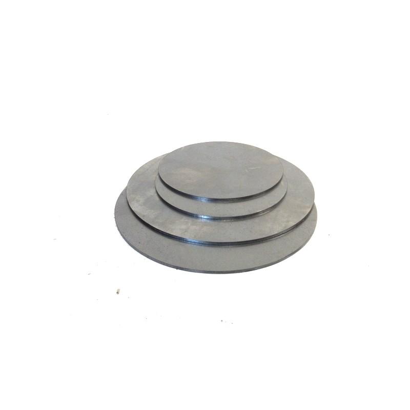 160 bis 200 mm Ronde S235 mit Loch Unterlegscheibe Stahlplatte Stahlscheibe