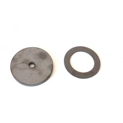 Stahlronde Ring 10mm mit...