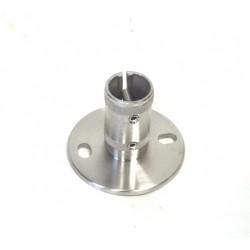 Bodenflansch für Rohr 42,4mm