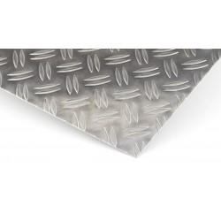 riffelblech duett aluminium tr nenblech zuschnitt alu blech 1 5 2 1000mm gloger metall. Black Bedroom Furniture Sets. Home Design Ideas
